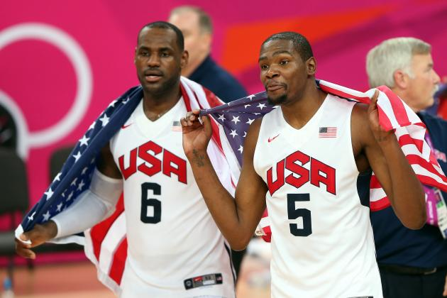 Re-Ranking the Top 10 NBA Players in the World, Post-Olympics Edition