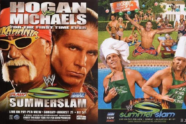 WWE SummerSlam 2012: Looking at Every Shawn Michaels Appearance at the Event