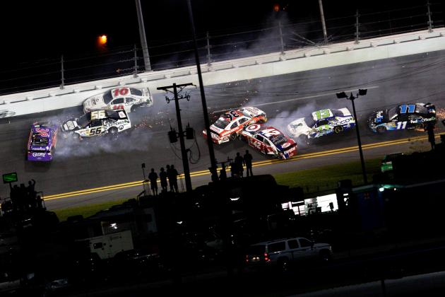 NASCAR: Top 20 Wrecks of 2012 so Far