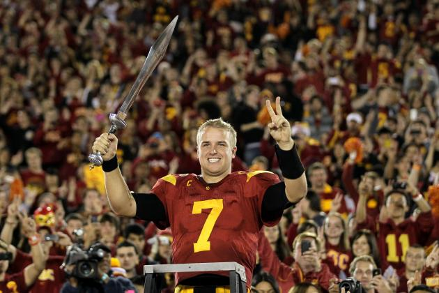 Matt Barkley and 10 2013 NFL Draft Prospects in the Driver's Seat