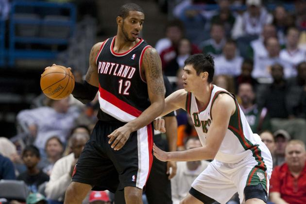 Portland Trail Blazers: Stat Projections for the Starting Unit