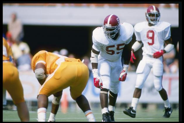 Alabama Football: Most Beastly Players in 'Bama History
