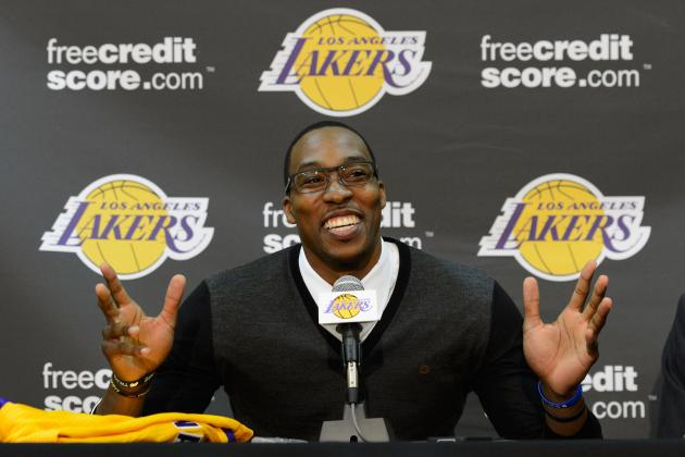LA Lakers: Stat Projections for Dwight Howard and Each Offseason Addition