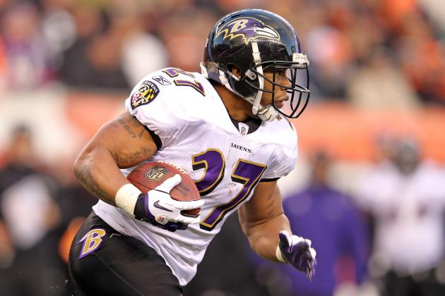 Fantasy Football 2012: Running Back Rankings and Tiers