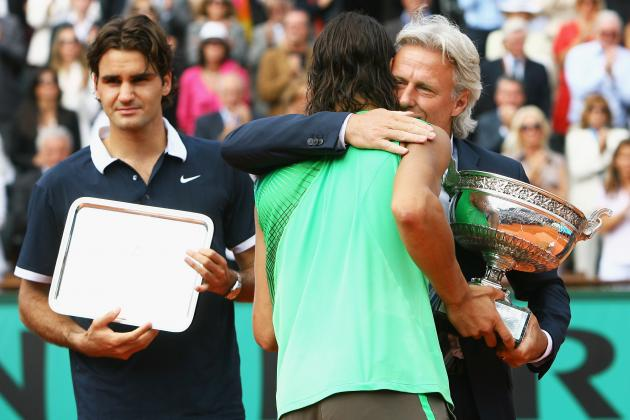 Roger Federer, Rafael Nadal and the 9 Greatest European Tennis Stars of All Time