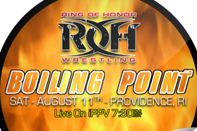 Ring of Honor Review: Steen Beats Kingston to End Disappointing Boiling Point