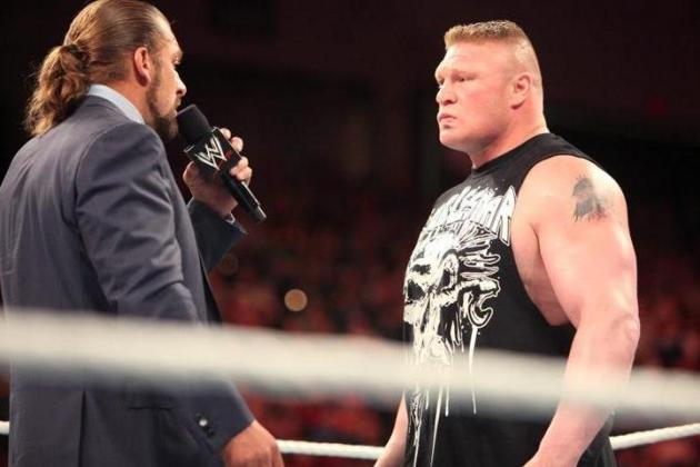 WWE SummerSlam 2012: Triple H-Brock Lesnar and 5 Things I Hate About SummerSlam