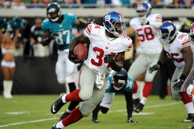 4 Reasons New York Giants' Rookie David Wilson Will Succeed in His 1st Year