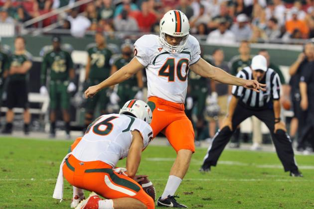 Miami Football: What You Need to Know About Hurricanes' Special Teams in 2012