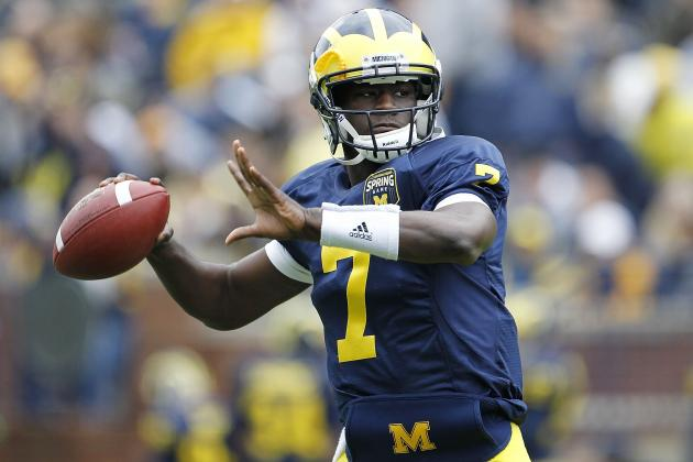Michigan Football: Why Devin Gardner Should Want to Play WR This Year