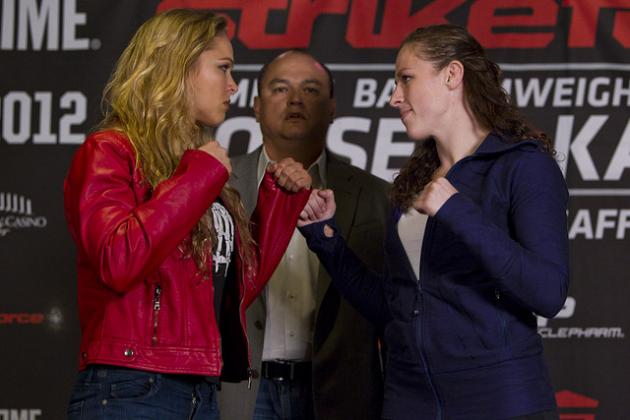 Ronda Rousey vs. Sarah Kaufman: Head-to-Toe Breakdown