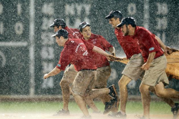 5 Worst MLB Stadiums to Be Caught in a Rain Delay