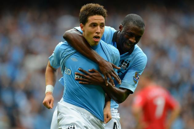 EPL Team of the Week: Samir Nasri, Eden Hazard, Michu and the Top Performers