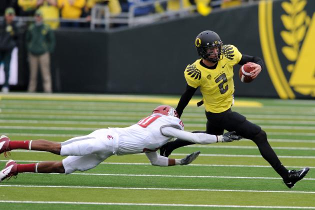 Oregon Football: Why QB Battle Will Be the Most Intense One This Fall