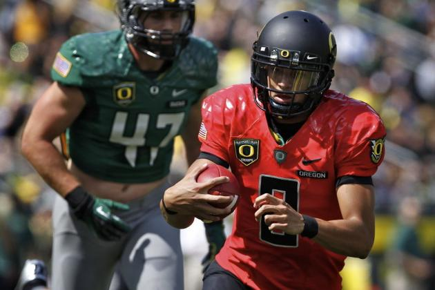 Oregon Ducks Football: Analyzing Pros and Cons of Marcus Mariota Starting at QB