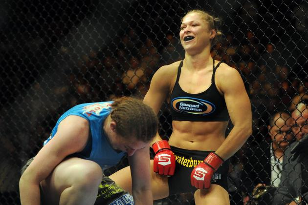 Rousey vs. Kaufman: Most Exciting Moments from Saturday Night