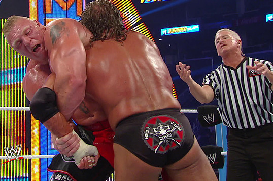 WWE: 7 Brock Lesnar Dream Matches