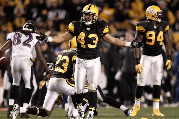 Troy Polamalu: The 10 Best Plays of His Career