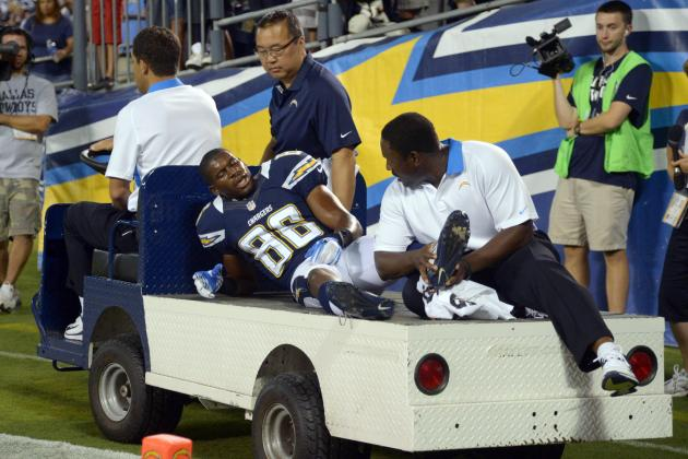 4 San Diego Chargers Who Must Step Up After Vincent Brown's Injury