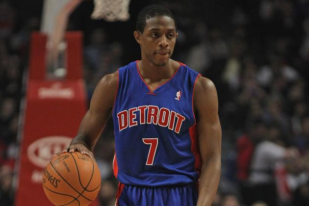 Predicting the Detroit Pistons' Rotation in 2012-13