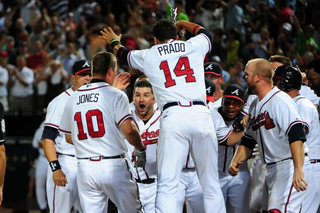 Chipper Jones and the Atlanta Braves' 10 Most Clutch Players