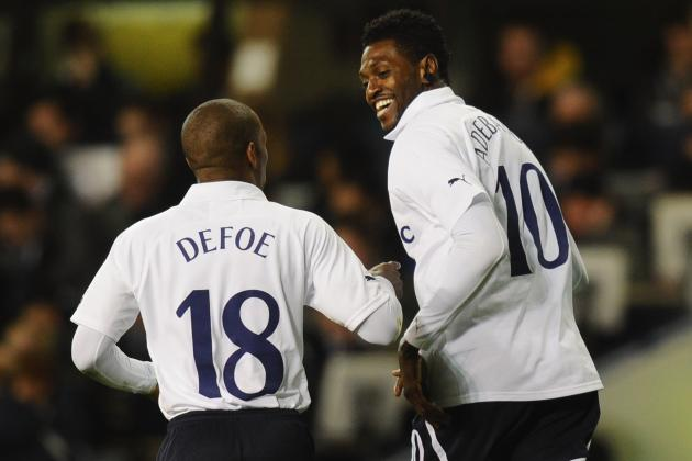 Tottenham Hotspur: 8 Bold Predictions for Emmanuel Adebayor This Season