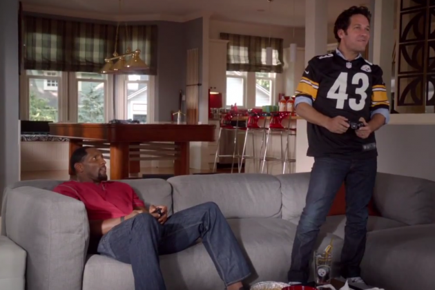 Madden 13: Ray Lewis and Paul Rudd Star in Series of Hilarious Ads