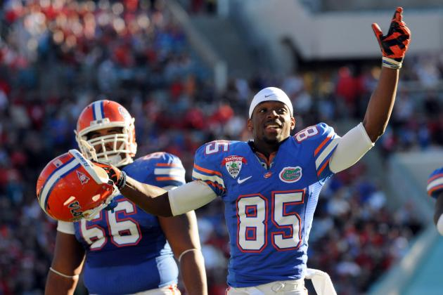 Florida Football: Breaking Down the Gators Wide Receivers