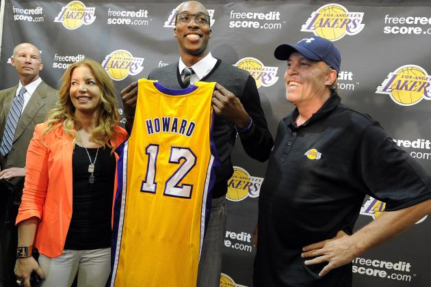 Projecting Each 2012-13 L.A. Lakers Player's Minutes Per Game