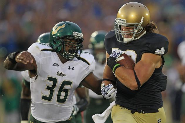 College Football Predictions: 5 Stud TEs Who Will Give Defenses Fits in 2012