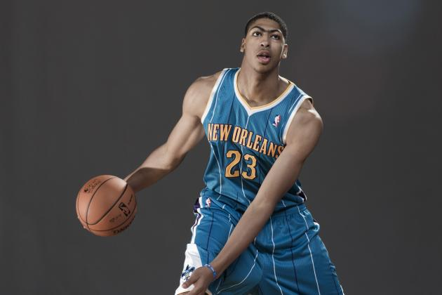 Grading How Top 5 2012 NBA 1st-Round Picks Look in Their New Uniforms