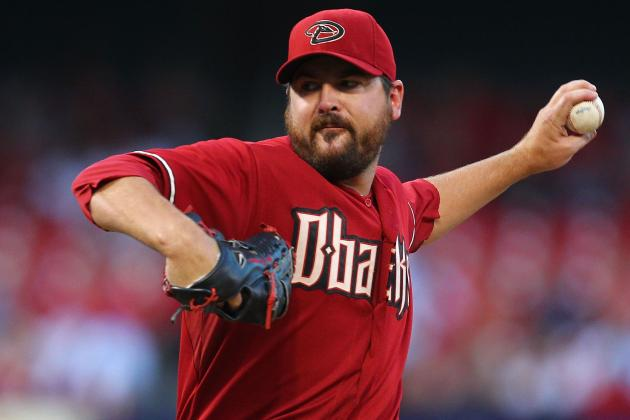 MLB Trade Rumors: 5 Contenders That Desperately Need Joe Saunders in Rotation