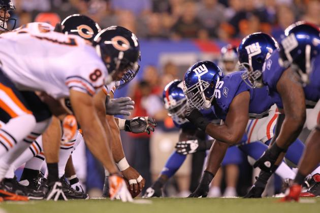 Giants vs. Bears: 10 Key Things to Watch for in Friday Night's Preseason Game