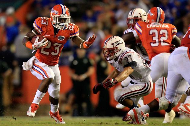 Florida Football: Breaking Down the Gators Backfield