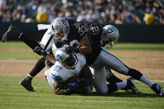 Lions vs. Raiders: Detroit's Biggest Winners and Losers from Preseason Week 3