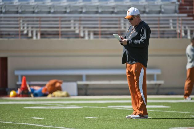 Texas Football: 10 Important Storylines to Watch Develop Throughout 2012