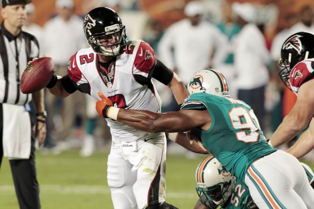 Falcons vs Dolphins: 10 Things We Learned from Miami's 23-6 Loss