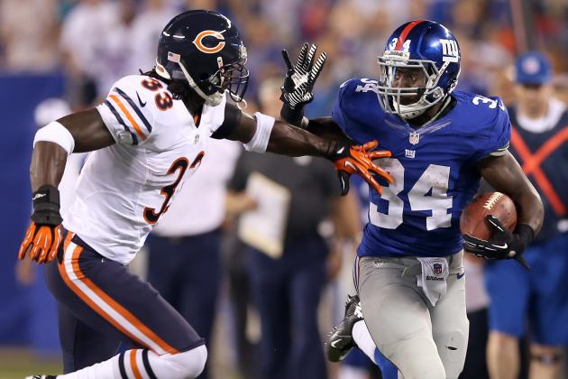 Bears vs. Giants: 10 Things We Learned from New York's 20-17 Loss
