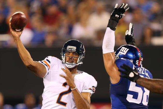 Chicago Bears vs. New York Giants: Friday's Top Performers