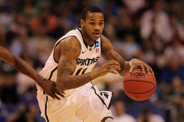 Michigan State Basketball: 3 Things Appling Must Improve on in 2012-13