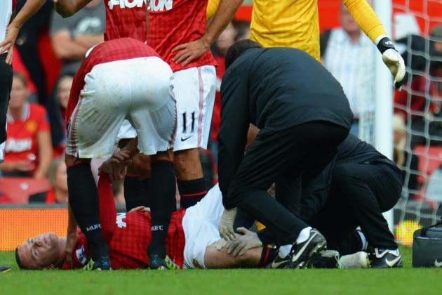 Wayne Rooney and the 10 Most Gruesome Injuries in EPL History