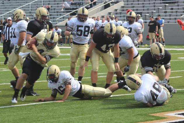 Army Offense Gears Up at Michie Stadium Scrimmage