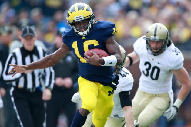 Michigan Football: Top 5 Players to Watch in Wolverines vs. Alabama Game Sept. 1
