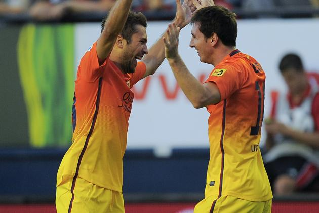 Lionel Messi Leads Barcelona to Comeback Victory at Osasuna