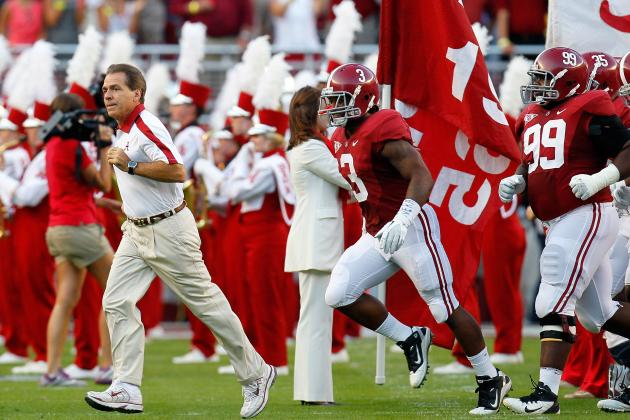 Alabama Football: 2012 Season Preview for the Crimson Tide