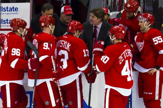 Detroit Red Wings: Which Forwards Won't Make the Cut in Training Camp?