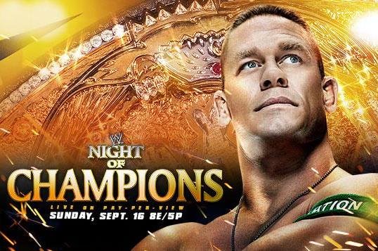 WWE Night of Champions: Full Card Simulation