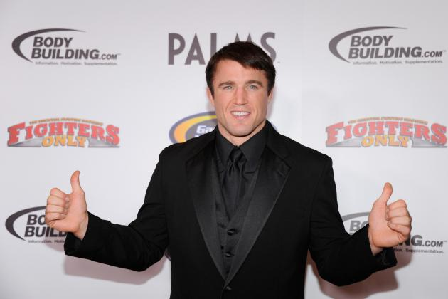 Chael Sonnen and the 5 Ballsiest Fighters in MMA