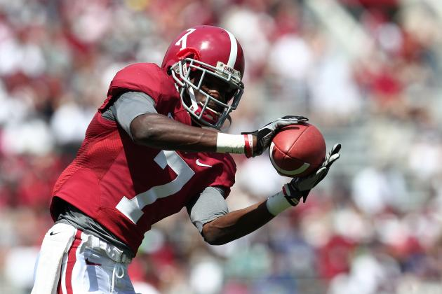 Alabama Football: Scouting Report, Analysis and Predictions for Tide's WR Corps