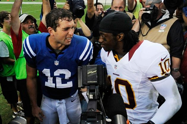 Robert Griffin III Beats Andrew Luck, Redskins Roster Cuts: The Armchair Coach